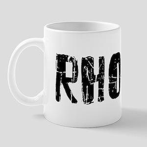 Rhodes Faded (Black) Mug