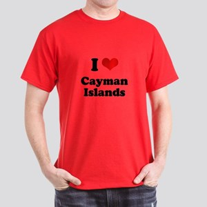 I love Cayman Islands Dark T-Shirt