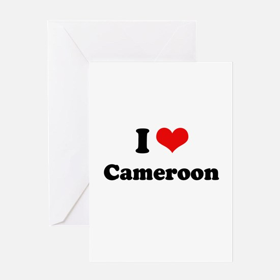 I love Cameroon Greeting Card