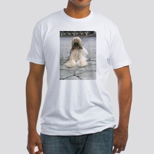 Helaine's Afghan Hound Fitted T-Shirt