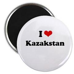 I love Kazakstan Magnet
