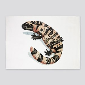 Gila Monster Lizard 5'x7'area Rug