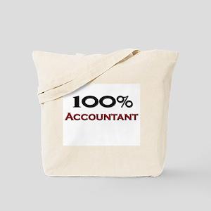 100 Percent Accountant Tote Bag