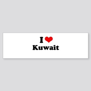 I love Kuwait Bumper Sticker