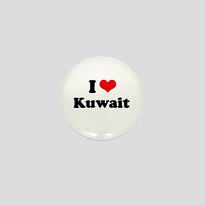 I love Kuwait Mini Button