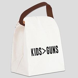 Kids>Guns Canvas Lunch Bag