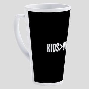 Kids>Guns 17 oz Latte Mug