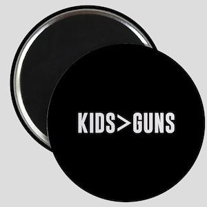 Kids>Guns Magnet