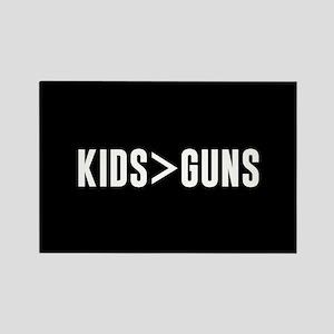 Kids>Guns Rectangle Magnet