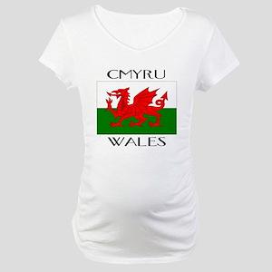 CYMRU WALES Maternity T-Shirt