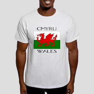 CYMRU WALES Light T-Shirt