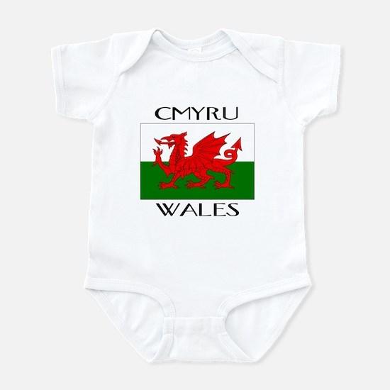 CYMRU WALES Infant Bodysuit