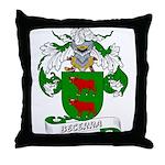 Becerra Family Crest Throw Pillow