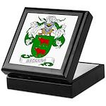 Becerra Family Crest Keepsake Box