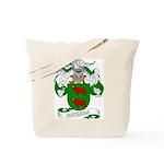 Becerra Family Crest Tote Bag