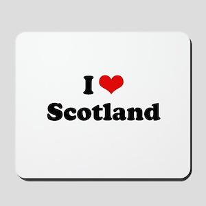 I love Scotland Mousepad