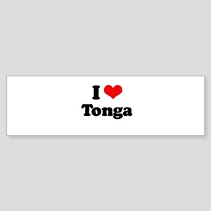 I love Tonga Bumper Sticker