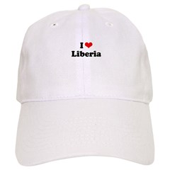 I love Liberia Baseball Cap
