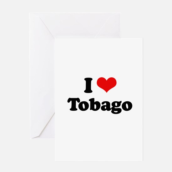 I love Tobago Greeting Card