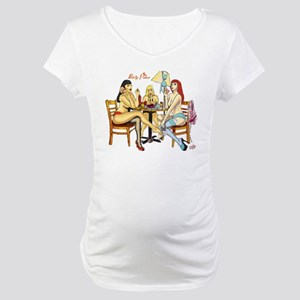 Strip Poker Maternity T-Shirt