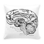Brain Neuro Map Everyday Pillow