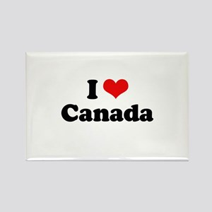 I love Canada Rectangle Magnet