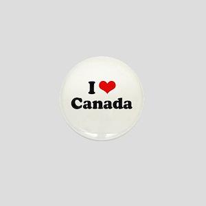 I love Canada Mini Button