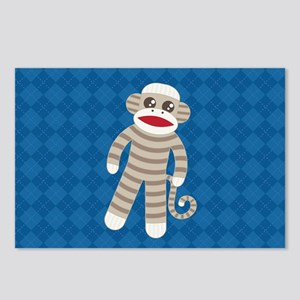 Sock Monkey Postcards (Package of 8)