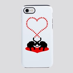 Big heart iPhone 8/7 Tough Case
