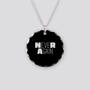 NeveR Again Necklace Circle Charm