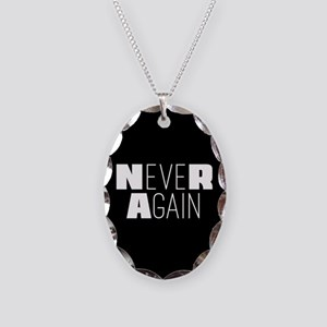 NeveR Again Necklace Oval Charm