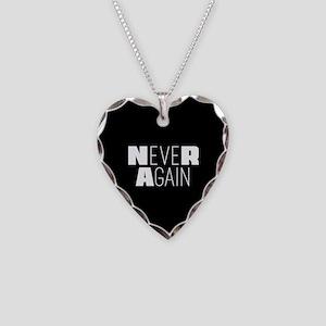 NeveR Again Necklace Heart Charm