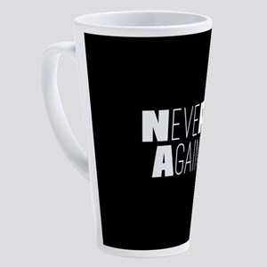 NeveR Again 17 oz Latte Mug