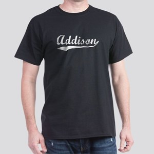 Vintage Addison (Silver) Dark T-Shirt