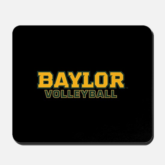 Baylor Volleyball Logo Mousepad