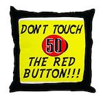 Humorous 50th Birthday Gifts! Throw Pillow