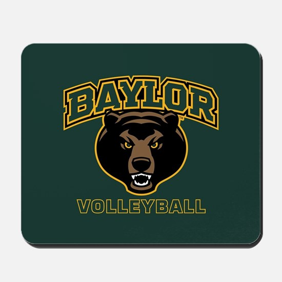 Baylor Bears Volleyball Mousepad