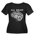 Brain Neuro Map Plus Size T-Shirt