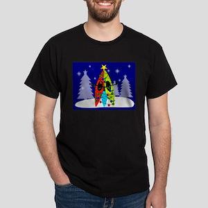 Kayaking Christmas Card Gails T-Shirt