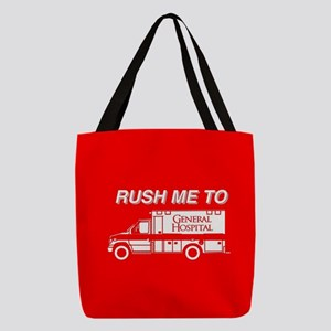 Rush Me To General Hospital Polyester Tote Bag