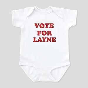 Vote for LAYNE Infant Bodysuit