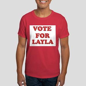 Vote for LAYLA Dark T-Shirt