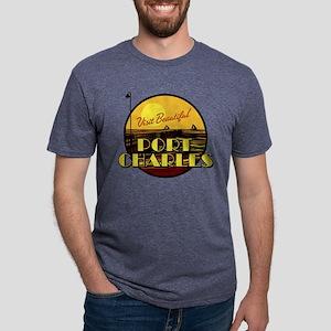 General Hospital Port Charl Mens Tri-blend T-Shirt