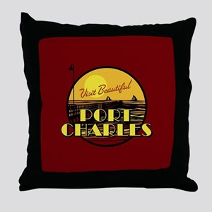 General Hospital Port Charles Throw Pillow