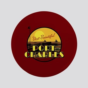 "General Hospital Port Charles 3.5"" Button"