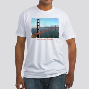Golden Gate Bridge - Fitted T-Shirt
