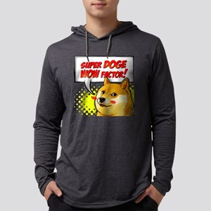 Doge Factor Dogecoin Long Sleeve T-Shirt