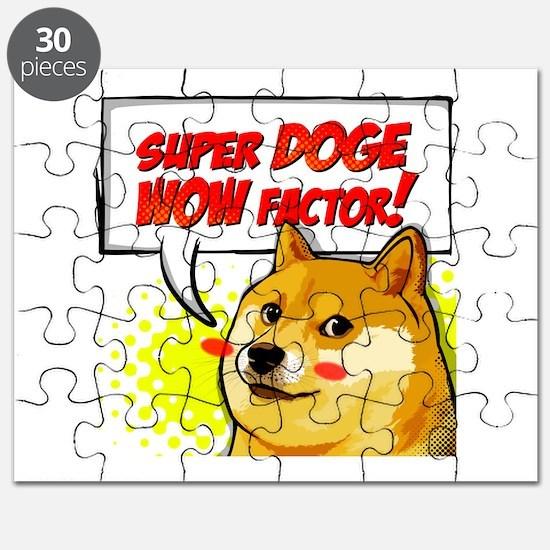 Doge Super Doge Meme WOW Puzzle