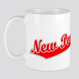 Retro New Port Ric.. (Red) Mug