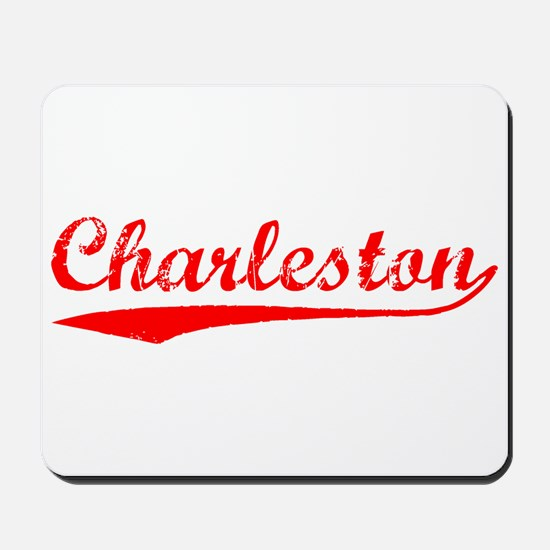 Vintage Charleston (Red) Mousepad